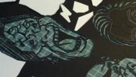 ●12月から高円寺の写真Bar白&黒でやる「白黒展」の作品がようやく出来ました。 画像は制作途中ですが。 ひびが入ったように気持ち悪い感じになってますが、 これは位置がずれないようにしている為で、 ノリで貼付け後に切り落 […]