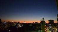 ●今日の夕焼けはきれいでしたよー