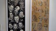 ●今回展示でテーマでない自分の作品で 時間が間に合わず今までの作品を展示しました。 左が5年前の切り絵でタイトルが「黒」。 右は前回の展示後にペン画の練習で描きためたものを 手ぬぐいサイズの額に入れました。 どちらも好評 […]