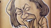 ●笑ってる時と素の顔が違うので 描きにくい芸人永野氏。