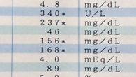 ●血液検査の結果。 相変わらず総コレステロール、中性脂肪、 LDL(悪玉)コレステロール値が高いです… HDL(善玉)コレステロールはかろうじて範囲内にはなりましたが、 善玉悪玉共上昇してました。 アオサ、ト […]