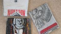 ●「NAON NO YAON」グッズの Tシャツとタオル送っていただきました! タオルがあったのは知りませんでした。 SHOW-YAオフィシャルウェブショップにて販売中です!