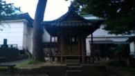 ●早朝ジョギング6キロ。 北向稲荷神社(出世稲荷神社)にてお詣り。