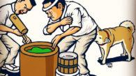※ケツの匂いを嗅いで相手の情報をキャッチするシリーズ ●犬の臭性 031 高速餅つき臭 犬「ゆっくり嗅げない…」