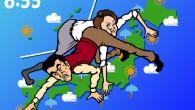 ※ボンボン俳優予報士とベテランキャスターとの 天気予報版ツイスターゲーム対決!「右手…晴れ…」