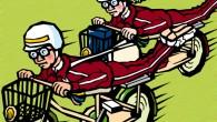 ※ヘルメットをかぶり登校する少年少女の単位を 「メット」とすると複数は「メッツ」!?