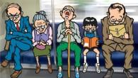 ※向かいに座る人達をポーカーに見立てて暇つぶし。 ストレートメガネ、4スリープ、3ハゲ。 俺流ルール。